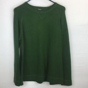 Eddie Bauer Large Green Sweater